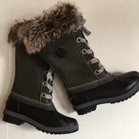 96f274f77d3 London Fog Shoes - NEW London Fog Melton Cold Weather Snow Boot